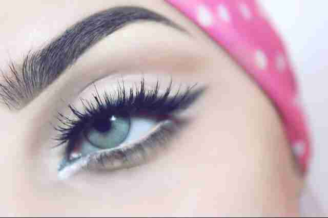 مكياج عيون سهل
